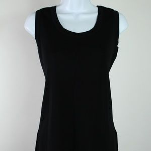 Exclusively Misook black sleeveless top tank med